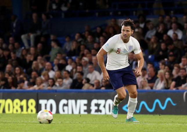 Mark Wright Soccer Aid 2019