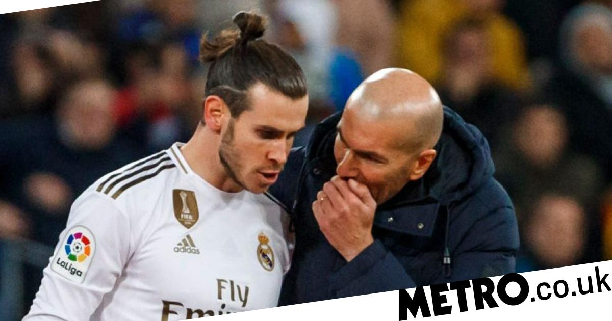 Gareth Bale sends message to Zinedine Zidane in final visit to Real Madrid's training ground - Metro.co.uk