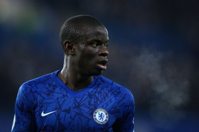 Kante suffered with injury last season