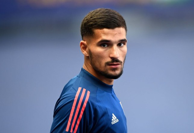 Houssem Aouar reportedly refused to take part in a warm-down session after Lyon beat Angers