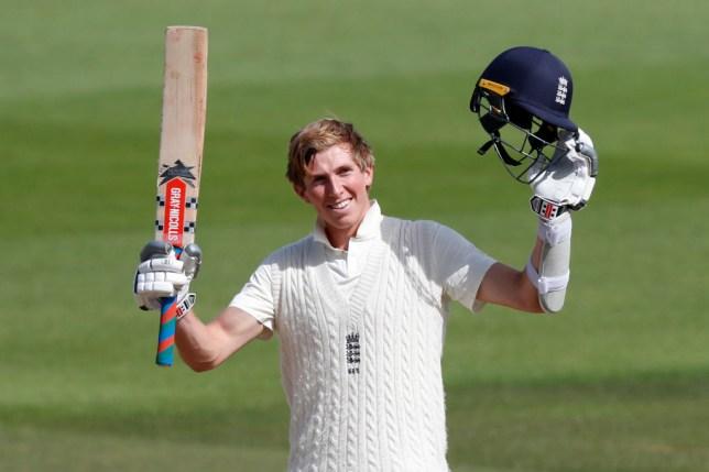 England batsman Zak Crawley enjoyed a breakthrough summer