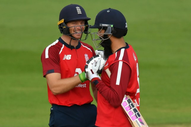 Jos Buttler starred in England's series-clinching victory over Australia