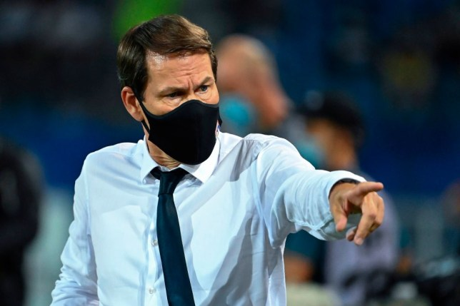 Lyon manger Rudi Garcia is battling to keep hold of their prize assets including the likes of Houssem