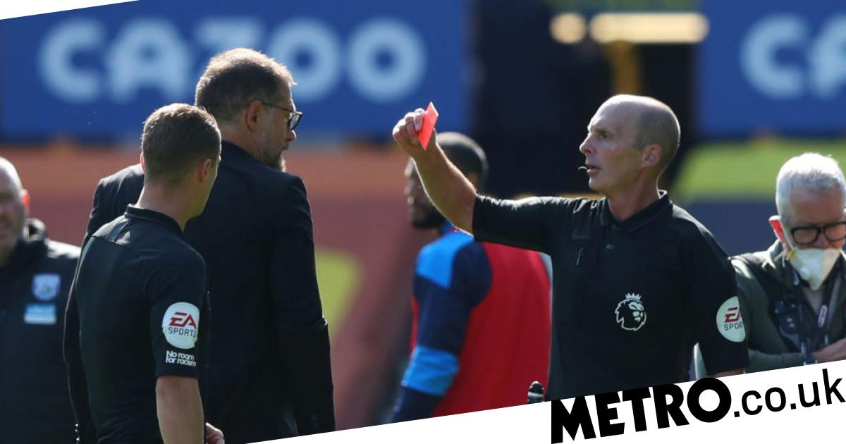 Hargreaves defends Slaven Bilic over half-time red card after Kieran Gibbs is sent off vs Everton - metro