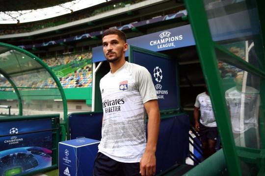 Houssem Aouar Olympique Lyonnais v Bayern Munich - Demi-finale de la Ligue des Champions