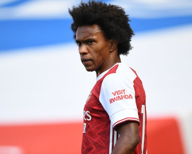 Willian was impressed by Mikel Arteta's proposal at Arsenal