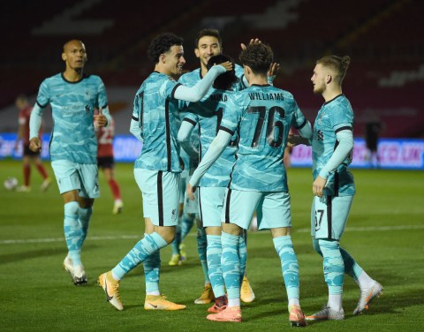 Jurgen Klopp Reacts To Liverpool Setting Up Arsenal Carabao Cup Tie After Lincoln Thrashing Metro News