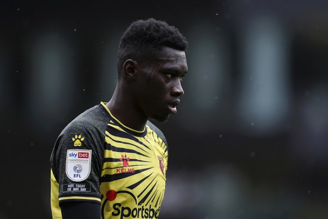 Manchester United have expressed interest in signing Watford winger Ismaila Sarr