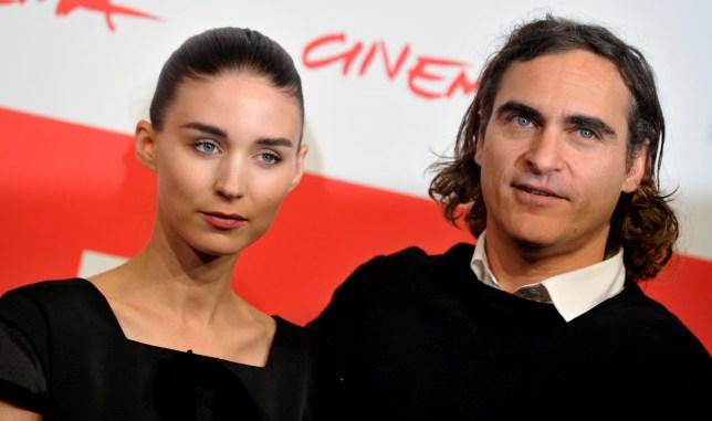 Joaquin Phoenix and Rooney Mara