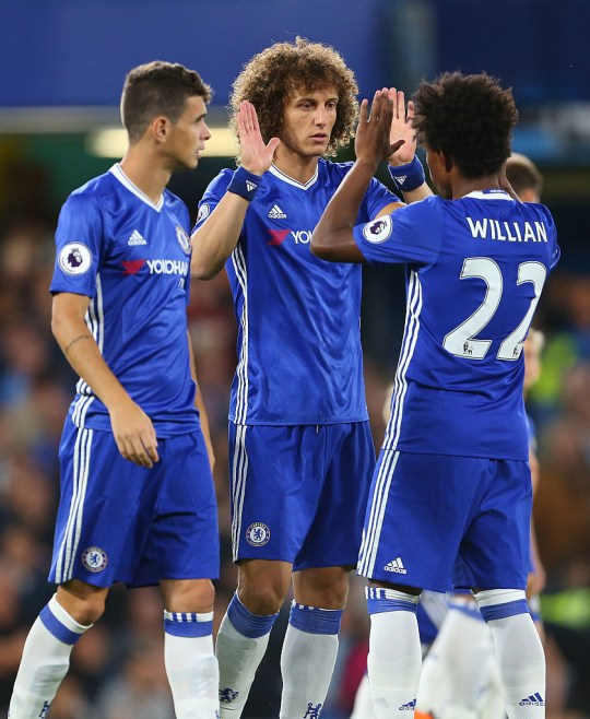 Oscar, David Luiz and Willian still speak following their time together at Chelsea