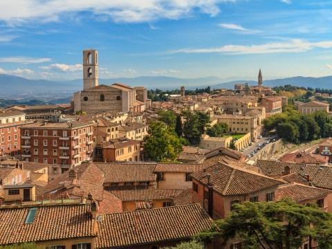 Where is Perugia and did Boris Johnson secretly visit the Italian city?