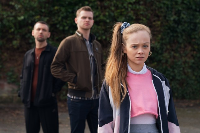 Jordan, Juliet and Victor in Hollyoaks