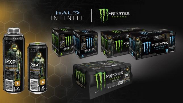 Halo Infinite Monster Energy