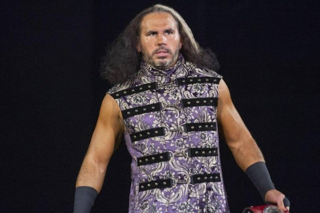 WWE legend and AEW wrestler Matt Hardy