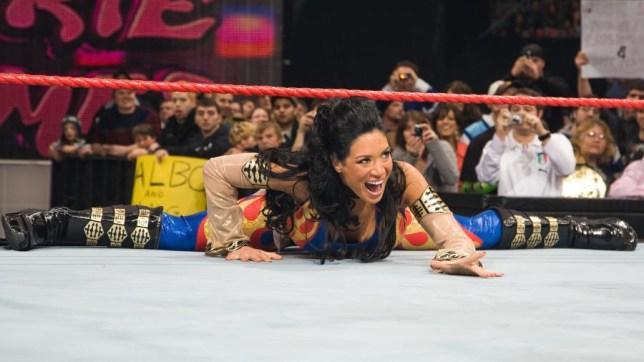 Former WWE superstar Melina Perez