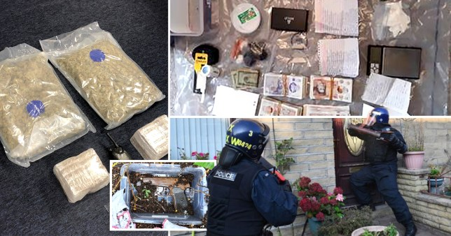 Drugs and cash seized by police in County lines operation