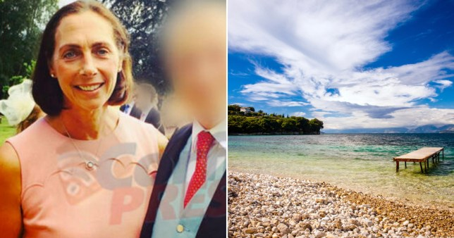 Three young Britons are reportedly being investigated over the death of a mother who was killed after being hit by a speedboat propellor while on holiday in Corfu.