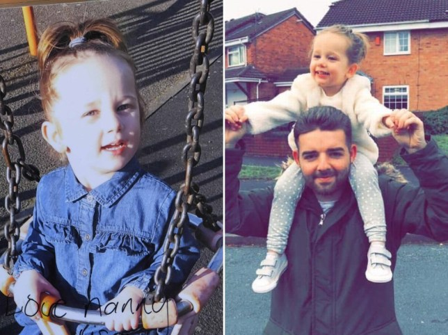 step-dad's tribute to three-year-old girl who died unexpectedly