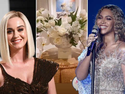 Beyonce gifts Katy Perry beautiful flower bouquet following birth of daughter Daisy Dove Bloom