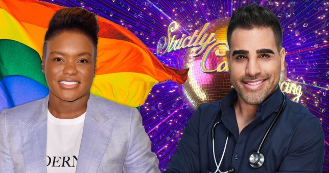 Strictly Come Dancing's Nicola Adams and Dr Ranj Singh