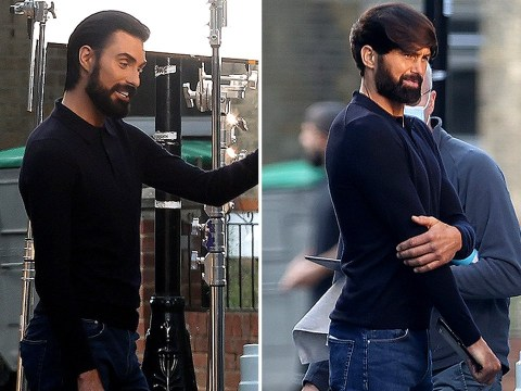 Rylan Clark-Neal hangs out with striking lookalike on set of new ad and, frankly, we are shook