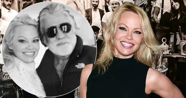Pamela Anderson and ex-husband Jon Peters