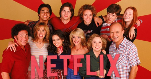 The cast of That 70s Show