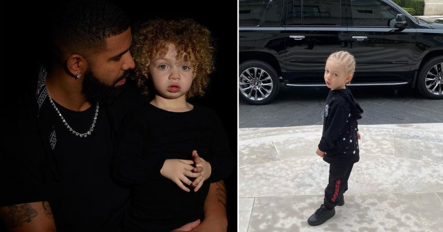 Drake shares cute photo of son Adonis heading to his first day of school and it's just so adorable