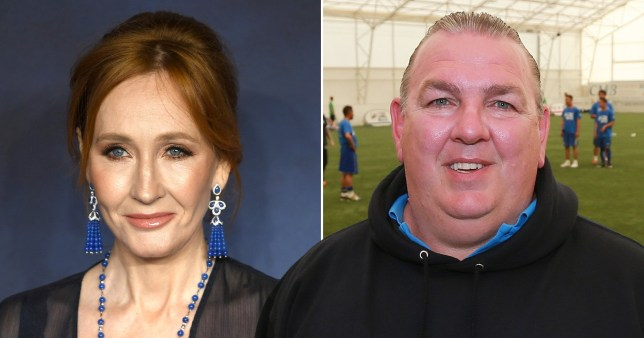 JK Rowling and Neville Southall