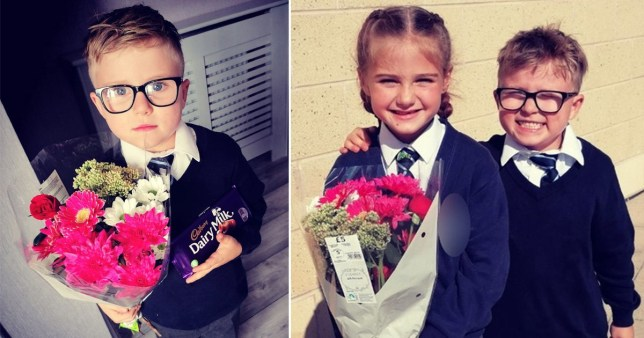 Harley Glenwright bought his girlfriend Sophie flowers