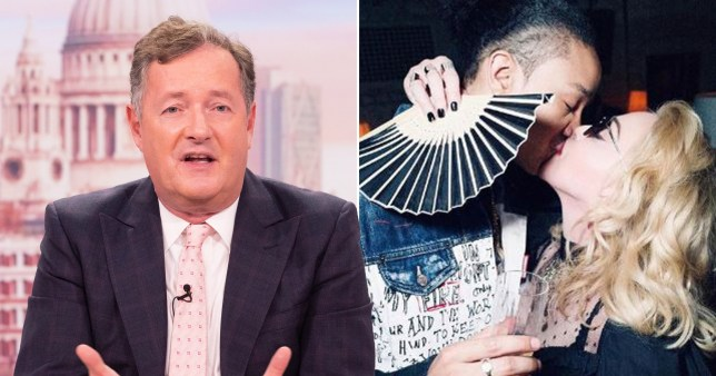 Piers Morgan and Madonna
