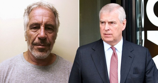 Composition of Jeffrey Epstein and Prince Andrew