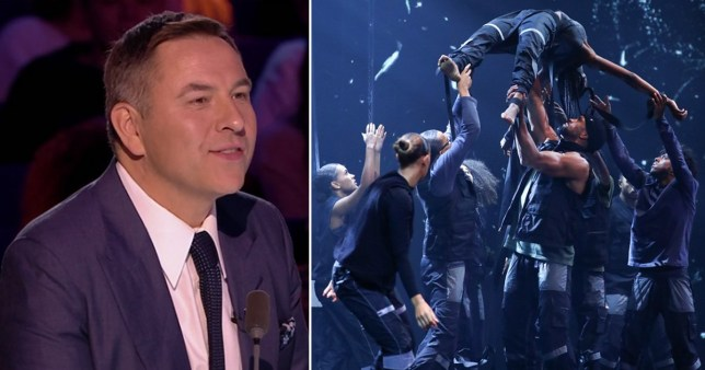 David Walliams\' reaction to Diversity\'s BLM routine on BGT