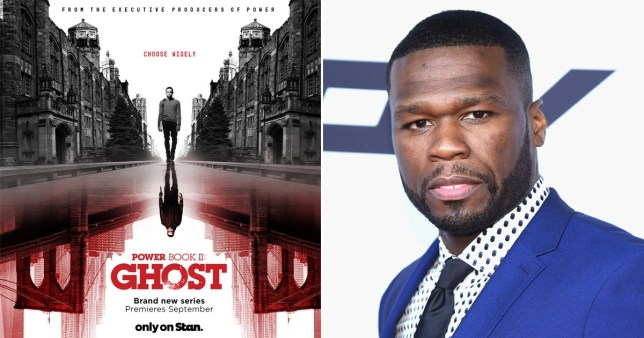 50 Cent celebrates as Power Book II: Ghost Season 2