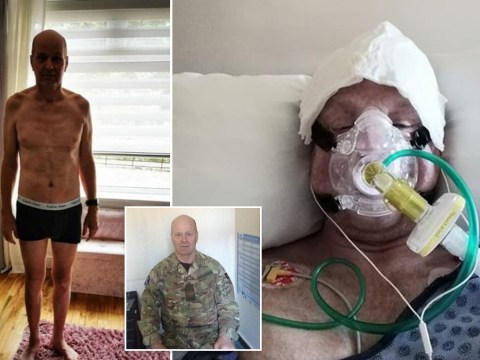 Soldier turned into 'frail, old man' after fighting coronavirus for 11 weeks