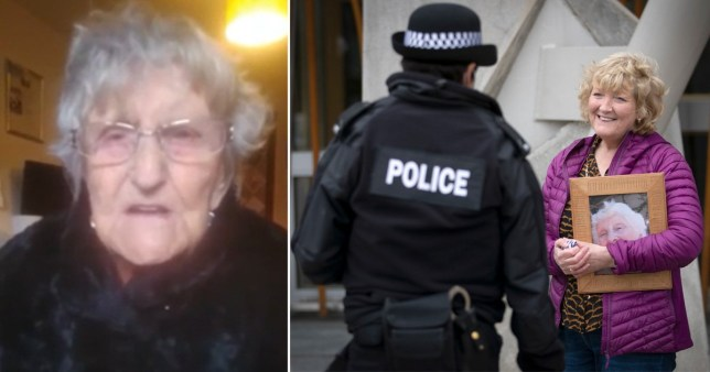 Scottish care home resident Mary Fowler, 104, who says visiting restrictions make her feel like she's in 'prison'