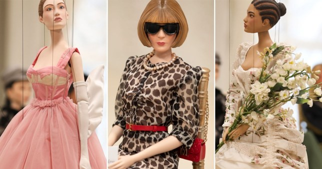 puppets from the Moschino Spring/Summer 2021 womenswear show