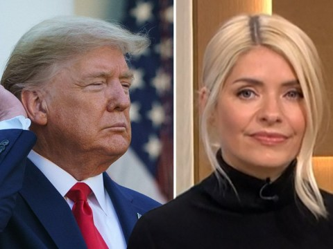 Holly Willoughby has the perfect put down for Donald Trump's '£55,000 haircut'