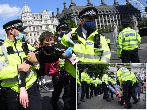 At least 90 arrested as Extinction Rebellion kick off weeks of disruption