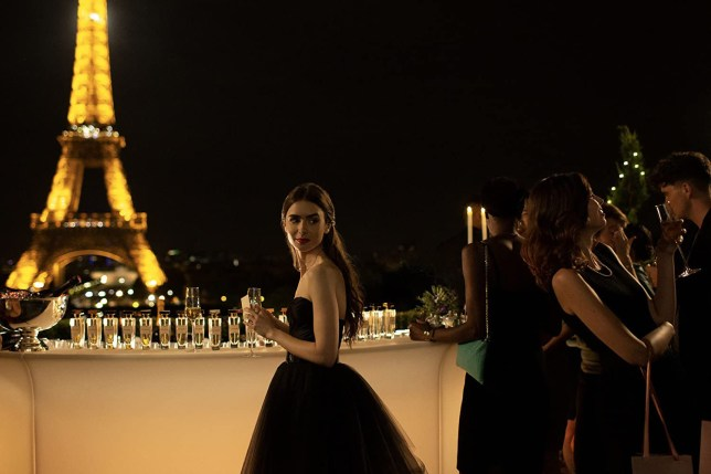 Lily Collins, Emily in Paris