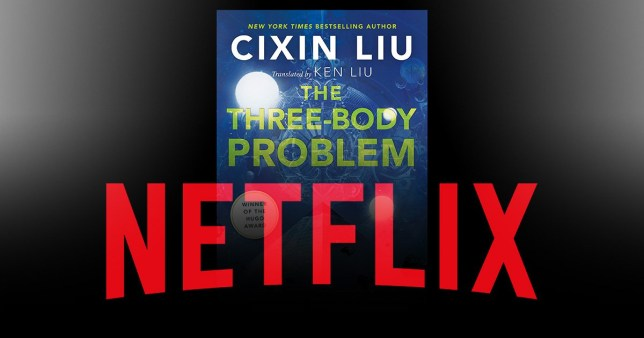 The Three-Boy Problem book cover and the Netflix logo