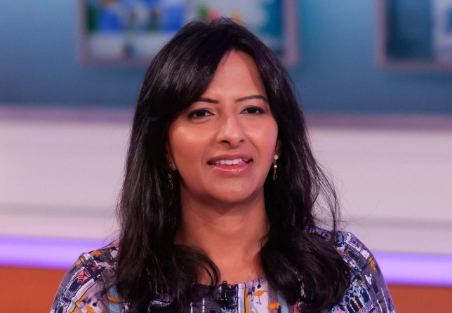 Editorial use only Mandatory Credit: Photo by Ken McKay/ITV/REX (10763066u) Ranvir Singh 'Good Morning Britain' TV show, London, UK - 02 Sep 2020