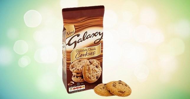 Galaxy cookies voted best biscuits