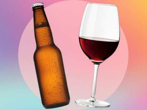 Just half a glass of wine or a bottle of beer a day 'can lead to obesity, diabetes and high blood pressure'