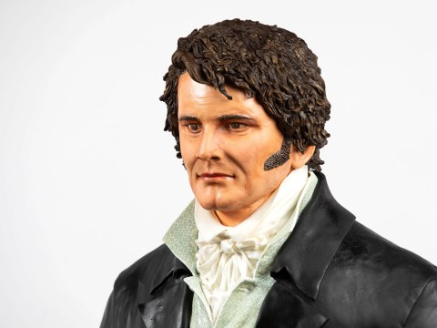 Life-size Colin Firth cake created for Pride and Prejudice's 25th anniversary – can we get a slice?