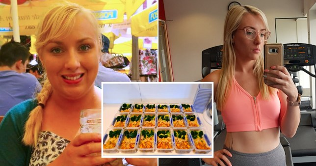Meal prep queen Emily Forbes, who lost weight and saved