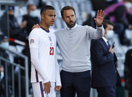 Gareth Southgate gave Mason Greenwood his England debut against Iceland