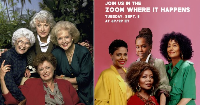 Tracee Ellis Ross and Regina King are doing an all-black rendition of Golden Girls for a good cause