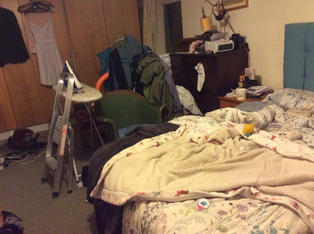 messiest room in Britain
