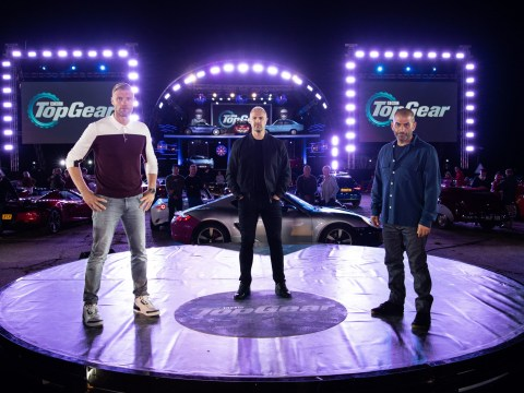What time is Top Gear on today and who is presenting the new series?